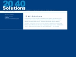 View More Information on 20-40 Solutions