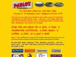 View More Information on Pablo's Motorcycle Tyres & Accessories Pty Ltd