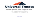 View More Information on Universal Trusses