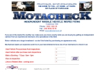 View More Information on Motacheck Vehicle Inspection Service