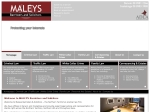 View More Information on Maleys Barristers & Solicitors