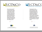 View More Information on Lcd & Co Financial Solutions