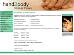 View More Information on Hand2Body Massage Therapy