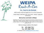 View More Information on Weipa Rent-A-Car