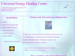 View More Information on Your Universal Energy Healing Centre