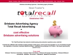 View More Information on Total Recall Marketing Advertising