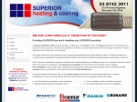 View More Information on Superior Heating & Cooling Pty Ltd