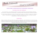 View More Information on Ruth Tidswell