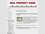 View More Information on Real Property Signs