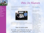 View More Information on Pets In Heaven