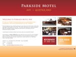 View More Information on Parkside Motel & Hibiscus Cafe
