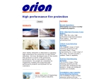 View More Information on Orion Fire Safety Pty Ltd