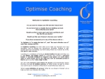 View More Information on Optimise Coaching