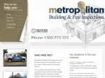 View More Information on Metropolitan Pre-Purchase Property Inspections
