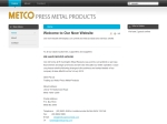 View More Information on Metco Press Metal Products Pty Ltd
