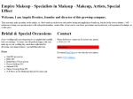 View More Information on Empire Makeup