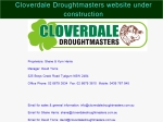 View More Information on Cloverdale Droughtmaster