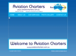 View More Information on Aviation Charters
