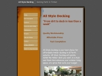 View More Information on All Style Decking