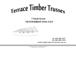 View More Information on Terrace Timber Trusses Pty Ltd