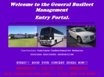 View More Information on General Small Vehicle Charters