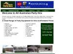 View More Information on All Australian Party Hire