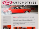 View More Information on S & E Automotives