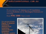 View More Information on Frankston Antennas & Tv Installations
