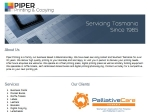 View More Information on Piper Printing