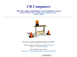 View More Information on Cr Computers