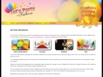 View More Information on Let's Party With Balloons