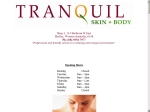 View More Information on Tranquil Skin & Body