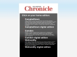 View More Information on Macarthur Chronicle, CAMPBELLTOWN