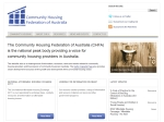 View More Information on Community Housing Federation Of Australia Inc