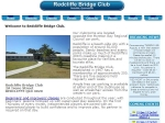 View More Information on Redcliffe Bridge Club Inc