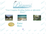 View More Information on Princess Events & Weddings