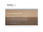 View More Information on Certus Law