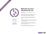 View More Information on Lavco Industries Pty Ltd