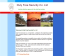 View More Information on Duty Free Security