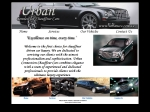 View More Information on Urban Connection Chauffeur Cars
