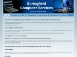 View More Information on Springfield Computer Services