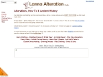 View More Information on Lanna Alteration Studio