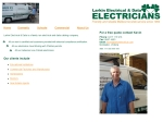 View More Information on M.A.Elliot Electrical Services
