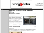 View More Information on Wang Central