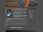View More Information on Steel Anything