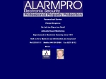View More Information on Alarmpro Electronic Security