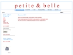 View More Information on Petite & Belle