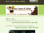 View More Information on Snow Cones And Coffee