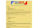 View More Information on Neu.Ways - For Learning & Behaviour Difficulties