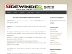 View More Information on Sidewinder Computer Services